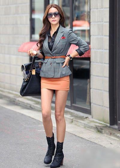 秋装外套巧搭配 轻松穿出优雅女人味
